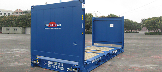 to buy a FLAT RACK container of 20 feet| Used sea FLAT RACK